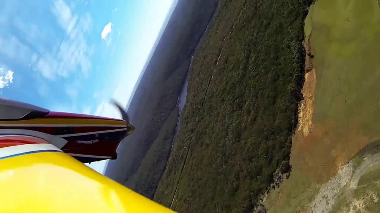 Supercharged RC Plane and Gopro
