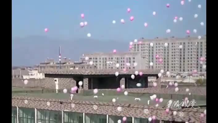 soltemos globos y grabemos con un drone