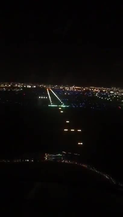 night landing fxe cessna skyhawk 172n 13sk