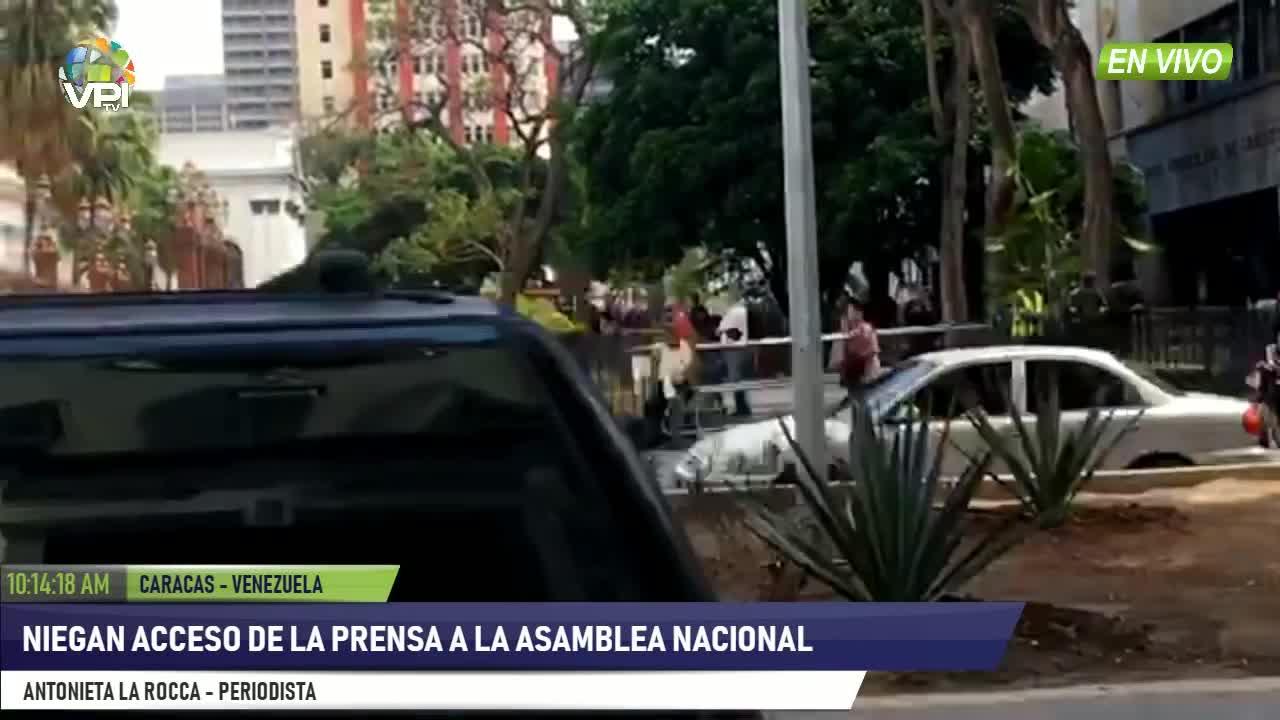 Venezuela - Niegan acceso a la prensa al Palacio Federal Legislativo - VPItv